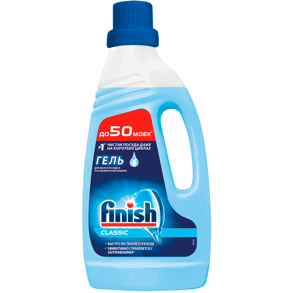 Моющее средство для посудомоечной машины Finish Classic 1000мл