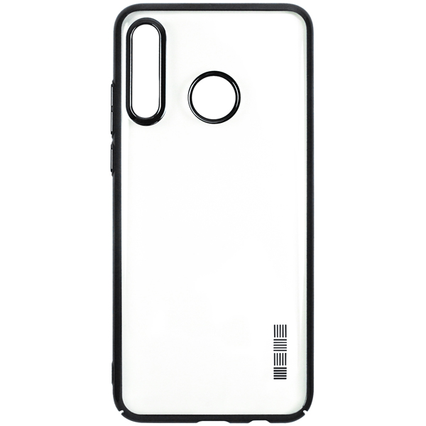 Чехол InterStep — DecorNewADV д/Huawei P30 Lite,Black