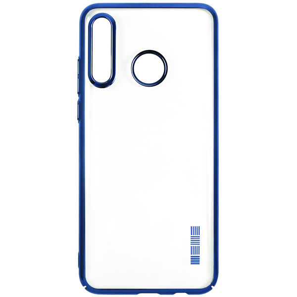 Чехол для сотового телефона InterStep Decor NewADV д/Huawei P30 Lite,Blue