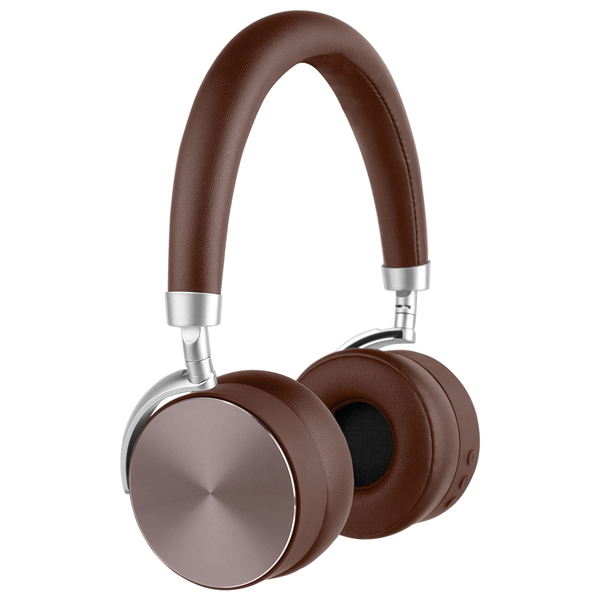 Наушники Bluetooth Rombica — Mysound BH-12 Brown (BT-H016)