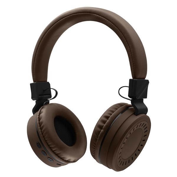 Наушники Bluetooth Rombica — MySound BH-11 Brown (BT-H018)