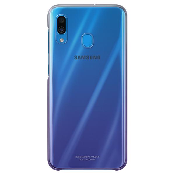 Чехол Samsung — Gradation Cover для A30, Violet