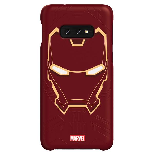 Чехол Samsung Iron Man для Galaxy S10E, Red фото