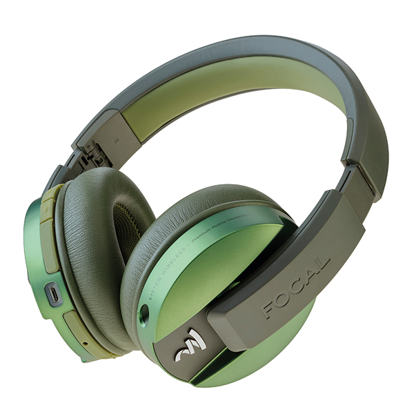 Наушники Bluetooth Focal — Listen Wireless Chic Olive