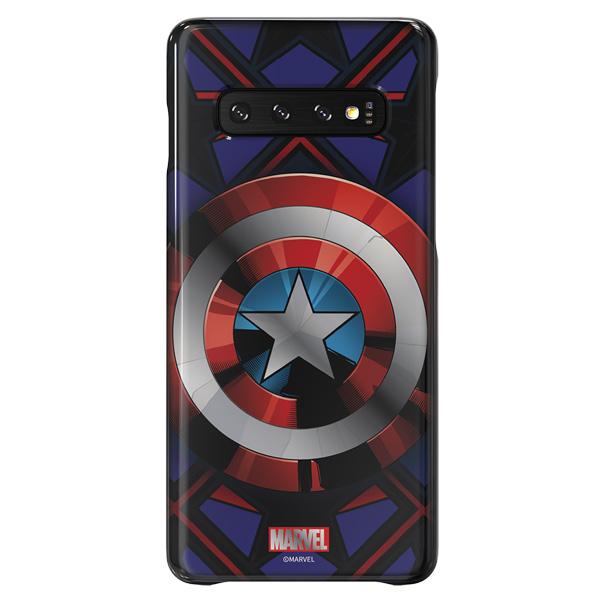 Чехол Samsung Captain America для Galaxy S10, Blue