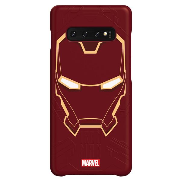 Чехол Samsung Iron Man для Galaxy S10+, Red
