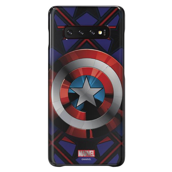 Чехол Samsung Captain America для Galaxy S10+, Blue