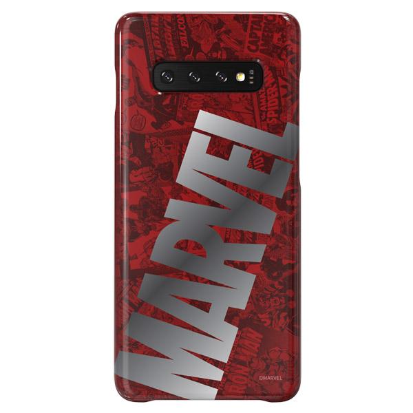 Чехол Samsung Marvel Big Logo для Galaxy S10+, Red