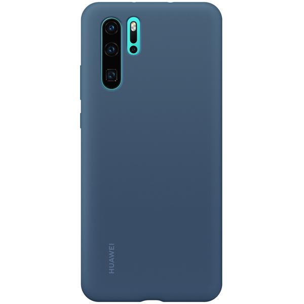 Чехол Huawei — Silicon Case для Huawei P30Pro, Blue