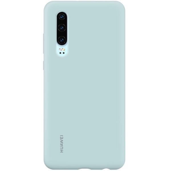 Чехол Huawei — Silicon Car Case для Huawei P30, Light Blue