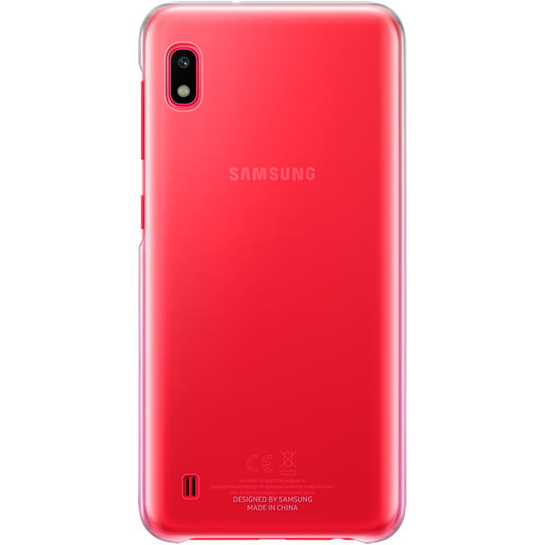 Чехол Samsung — Gradation Cover д/Galaxy A10, Pink