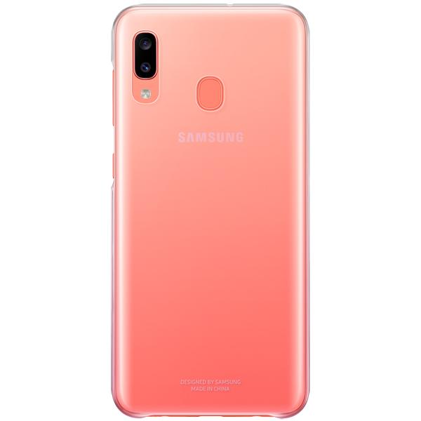 Чехол Samsung Gradation Cover д/Galaxy A20, Pink