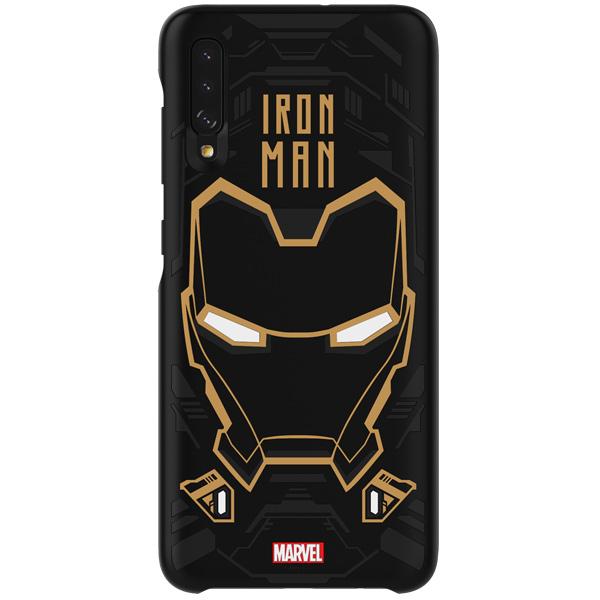 Чехол Samsung — Marvel IronMan д/Galaxy A70, Black
