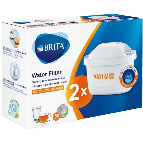 Картридж к фильтру для очистки воды Brita MAXTRA+ Жесткость 2 шт.