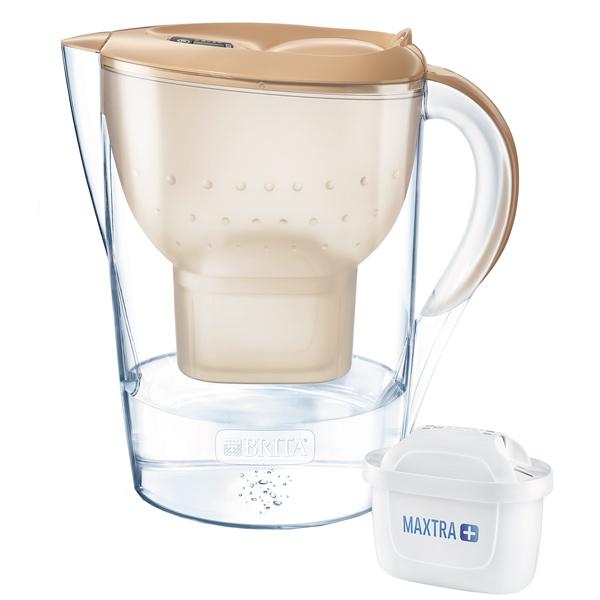 Фильтр для очистки воды Brita Marella XL MEMO MX+ Капучино