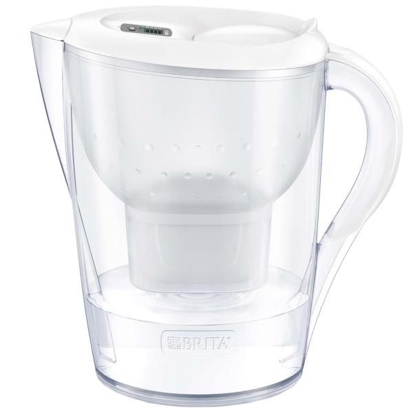 Фильтр для очистки воды Brita Marella XL MEMO MX+ White