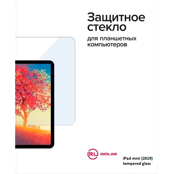 Защитное стекло для iPad Red Line закаленное для iPad mini (2019)
