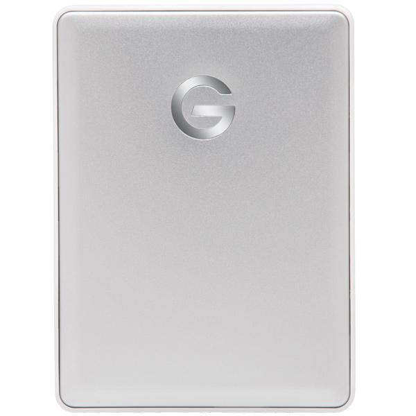 """Внешний жесткий диск 2.5"""" для Mac G-Technology 1TB G-Drive Mobile (0G10264) серебристого цвета"""