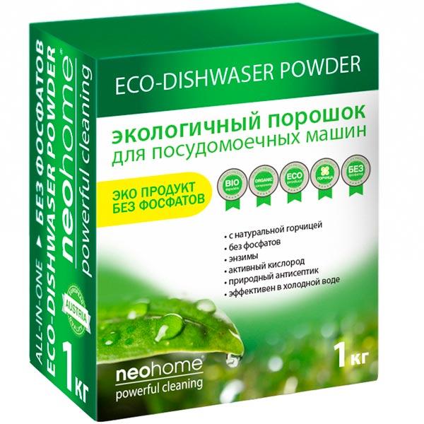 Моющее средство для посудомоечной машины NeoHome 1011 эко, 1 кг