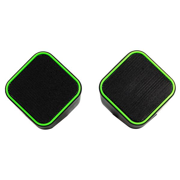 Колонки компьютерные Smartbuy CUTE (SBA-2580) Black Green