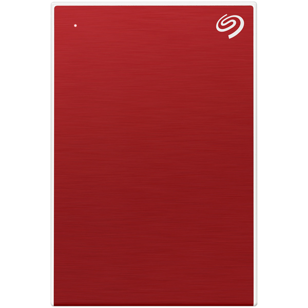 "Внешний жесткий диск 2.5"" Seagate — 2TB Backup Plus Slim, Red"