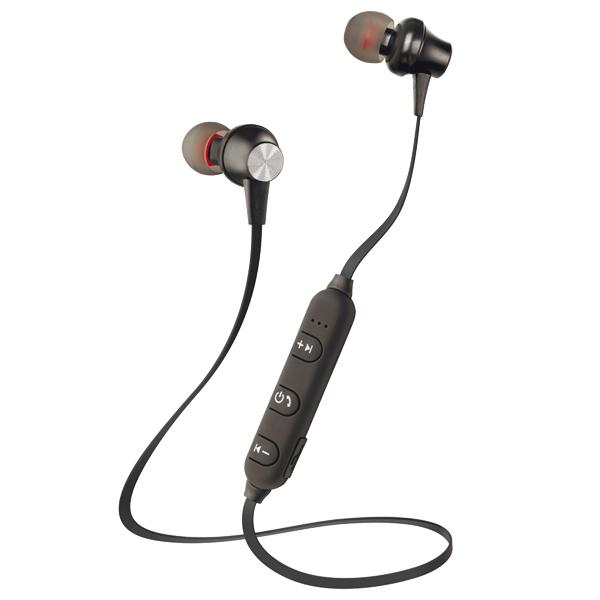 Спортивные наушники Bluetooth InterStep SBH-230 Sport Black
