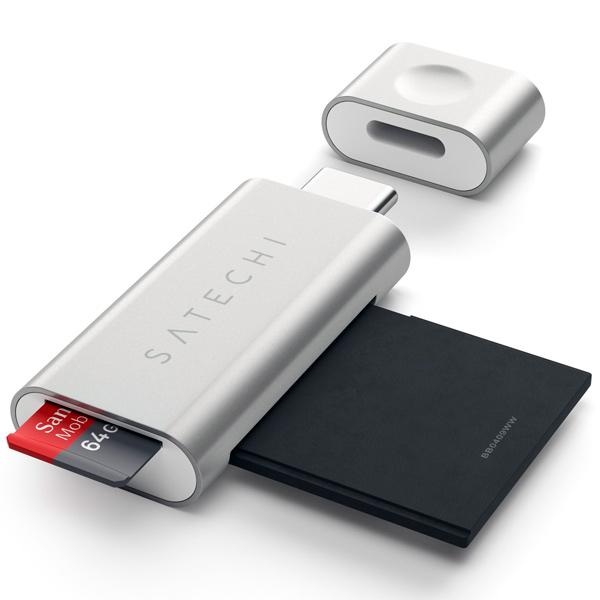 Разветвитель для компьютера Satechi Card Reader (ST-TCUCS)