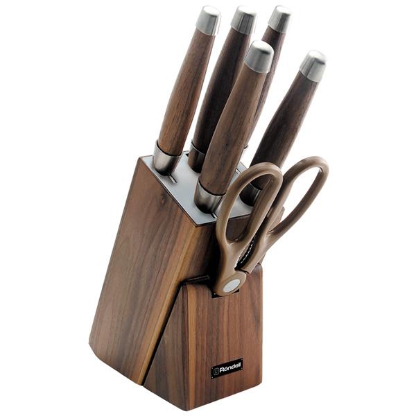 Набор кухонных ножей Rondell Glaymore RD-984 5шт