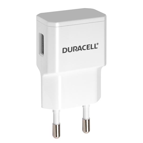 Сетевое зарядное устройство Duracell USB/2.1A White (DRACUSB3W-RU)