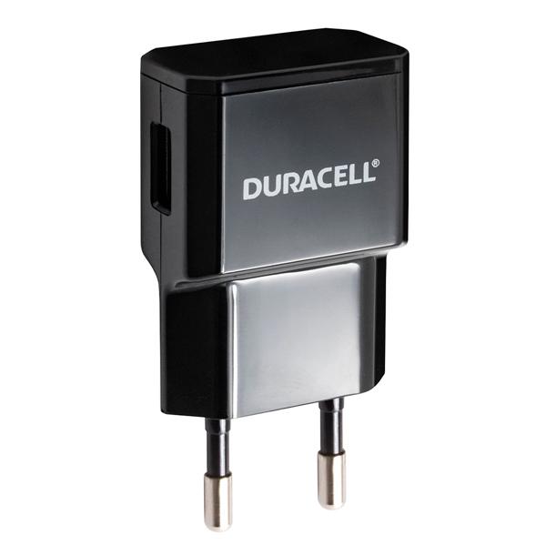 Сетевое зарядное устройство Duracell USB/2.1A Black (DRACUSB3-RU)