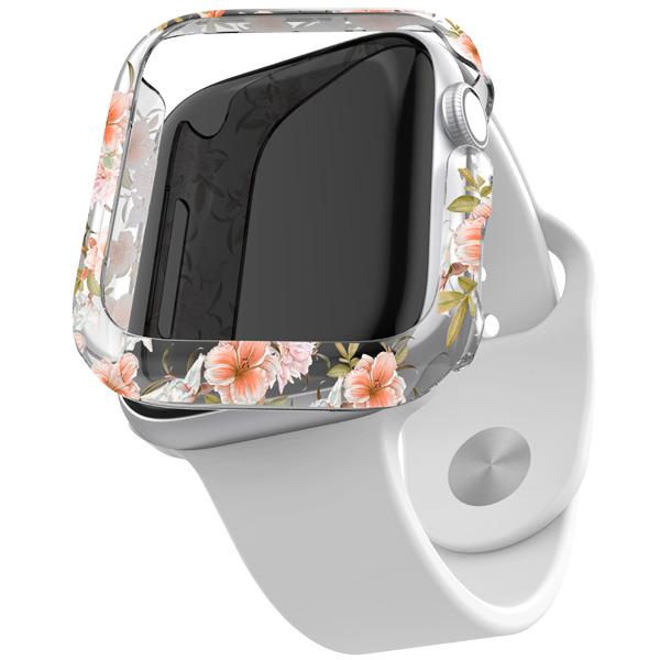 Бампер для Apple Watch X-Doria Revel Apple Watch 40mm цветочный принт