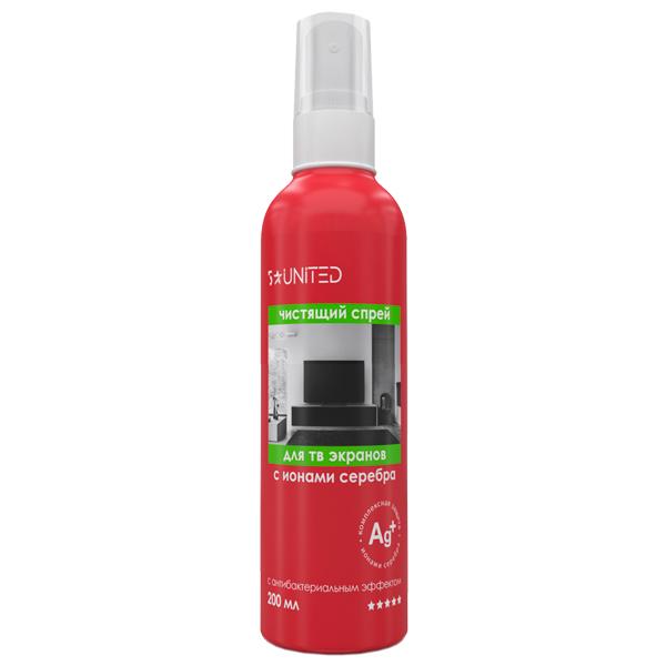 Чистящее средство для ТВ 5 Star United 411 антибактериальный спрей 200мл