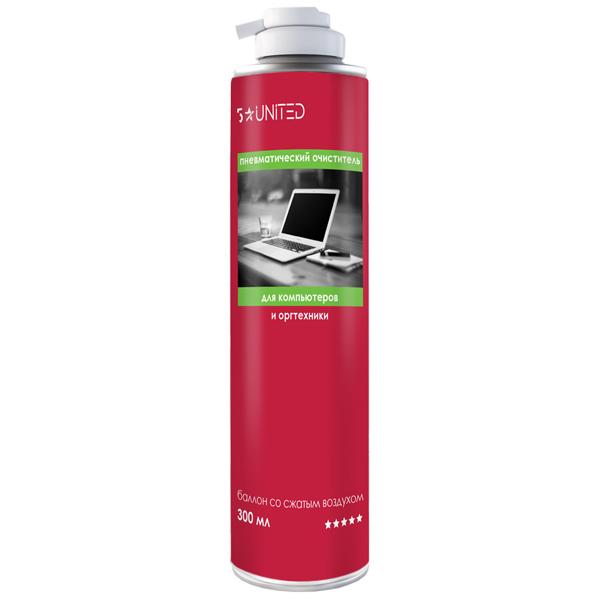Чистящее средство для компьютерной техники 5 Star United 414 пневматический очиститель 300мл