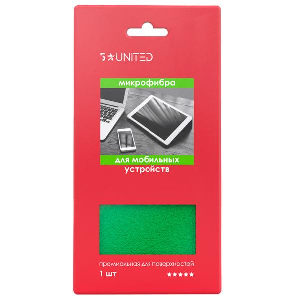 Салфетки для мобильной техники 5 Star United 506 из микрофибры 15х15см