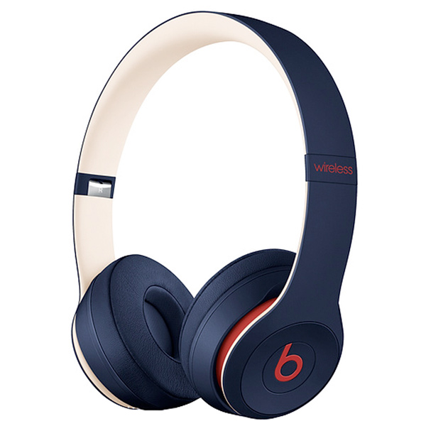 Наушники Bluetooth Beats — Solo3 Wireless Club Navy (MV8W2EE/A)