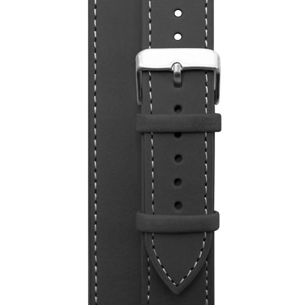 Ремешок Cozistyle Double Tour Leather Watch Band Black