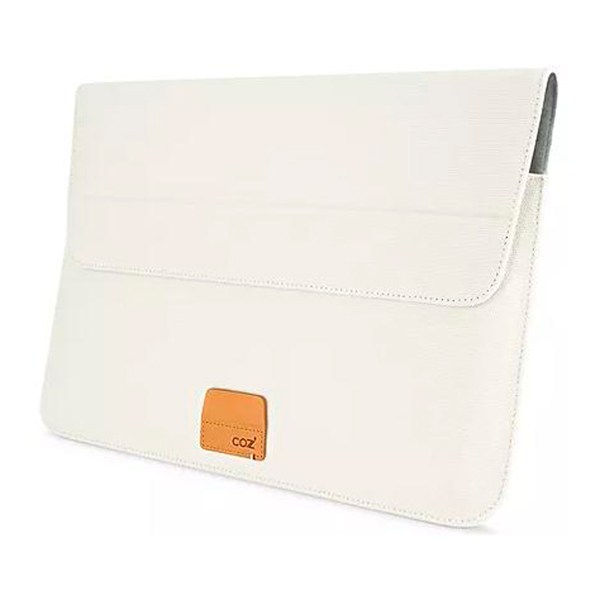 "Кейс для ноутбука Cozistyle — Stand Sleeve Canvas MacBook 15/16"" Lily White"