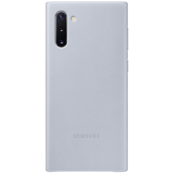 Чехол Samsung — Leather Cover для Note 10, Grey