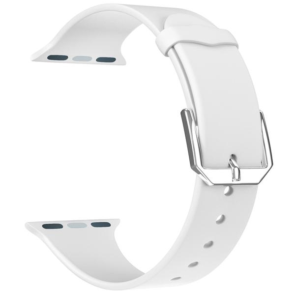 Ремешок LYAMBDA ALCOR Apple Watch 38/40mm ALCOR DS-APS08C-40-WT
