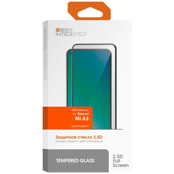 Защитное стекло InterStep FSC для Xiaomi Mi A3 Black