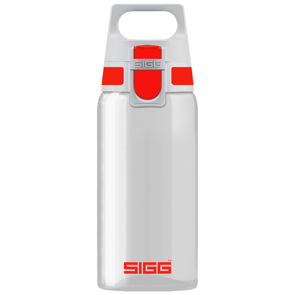 Бутылка для воды Sigg Total Clear One 500мл Red (8692.70) фото
