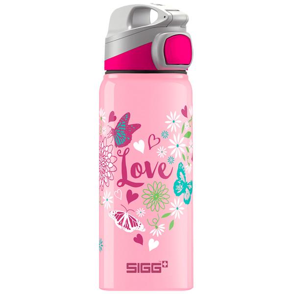 Бутылка для воды Sigg Miracle Alu Love 600мл (8690.00)
