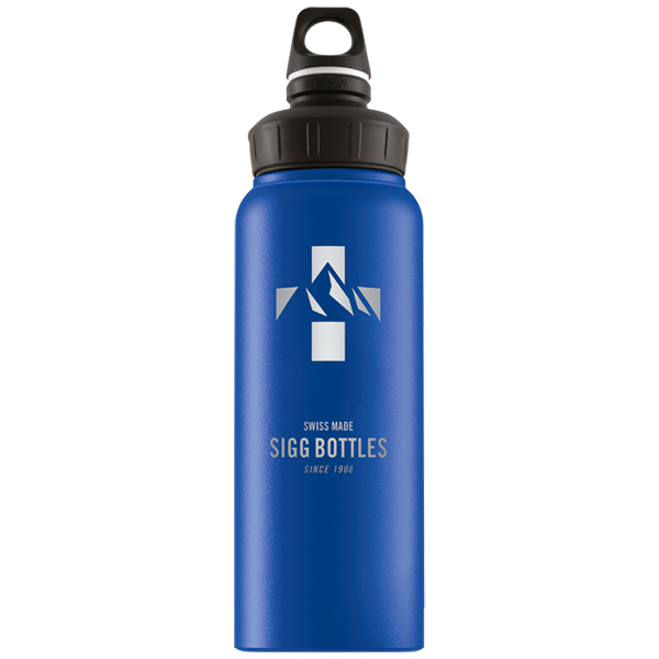 Бутылка для воды Sigg WMB Mountain 1л Dark Blue Touch (8745.00) фото