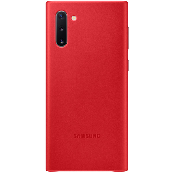 Чехол Samsung — Leather Cover для Note 10, Red