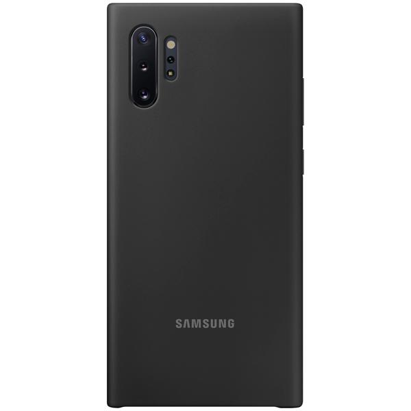 Чехол Samsung — Silicone Cover для Note 10+, Black