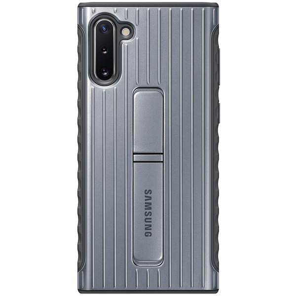 Чехол Samsung — Protective Standing Cover для Note 10, Silver