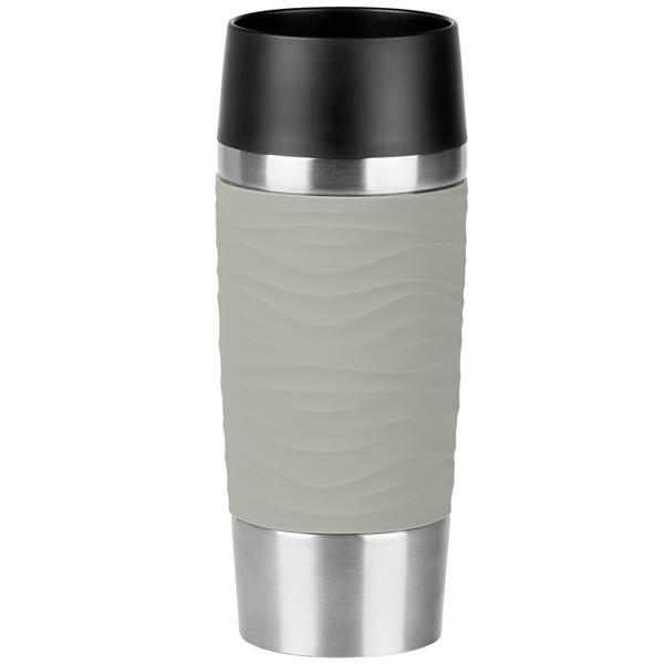 Купить Термокружка Emsa Travel Mug Waves 0,36л Olive (N2010800) в каталоге интернет магазина М.Видео по выгодной цене с доставкой, отзывы, фотографии - Москва
