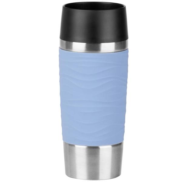 Термокружка Emsa Travel Mug Waves 0,36л Blue (N2010700) фото