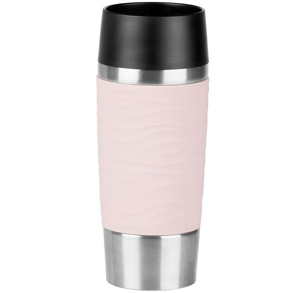 Купить Термокружка Emsa Travel Mug Waves 0,36л Pink (N2010600) в каталоге интернет магазина М.Видео по выгодной цене с доставкой, отзывы, фотографии - Москва