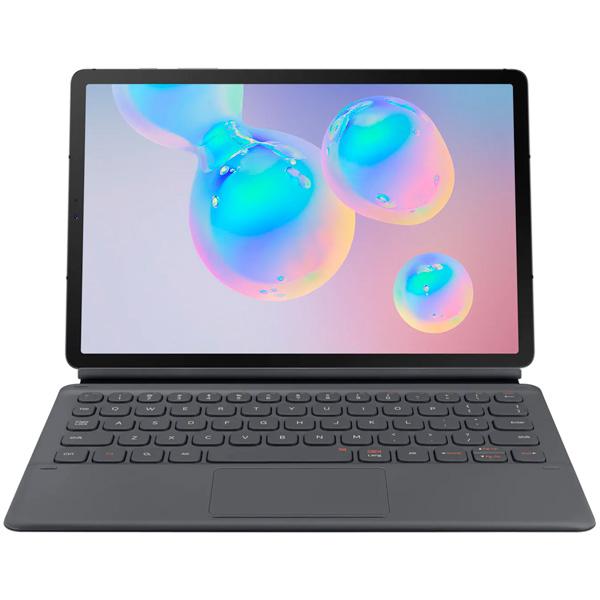 Чехол для планшетного компьютера Samsung — с клавиатурой для Galaxy Tab S6 Dark Grey